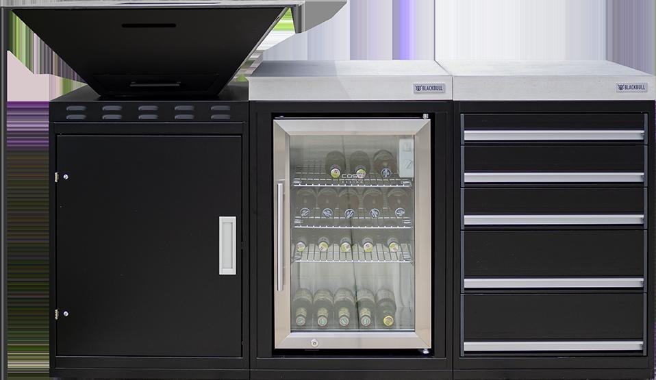 modulare Outdoorkueche KitchenBlock