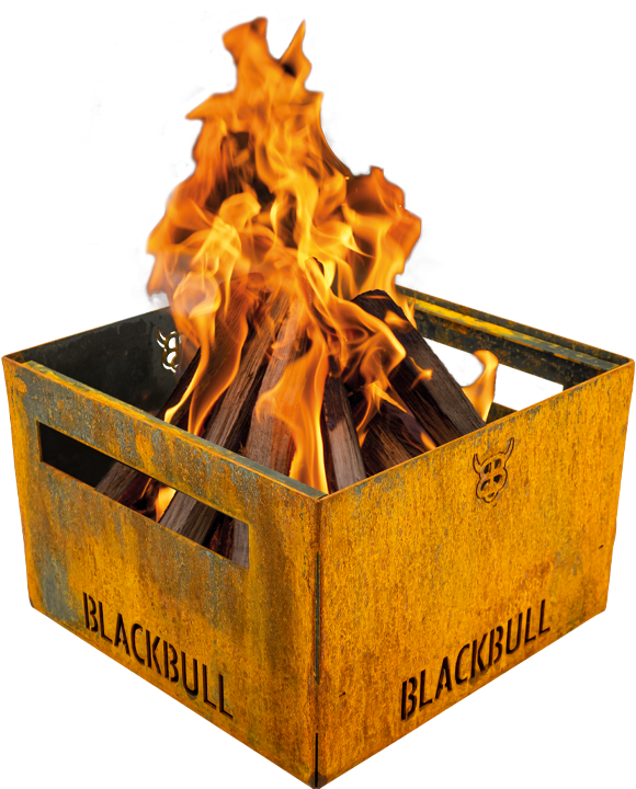 PiQoo Holzkohlegrill und Feuerkorb