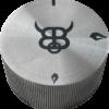 Edelstahl Drehknopf für Feuerplattengrill BigQube Gas